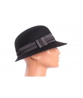 Dámsky klobúk - čierny 1.