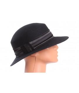 Dámsky klobúk - čierny 2.