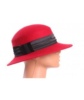 Dámsky klobúk - červený