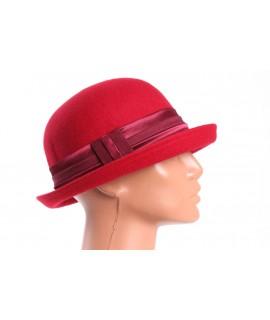 Dámsky klobúk - červený 1.