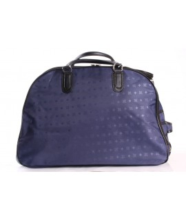 Cestovná taška na kolieskách (395) - modrá (52x37x30 cm)