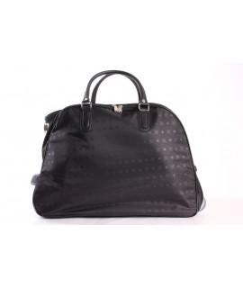 Cestovná taška na kolieskách (395) - čierna (52x37x30 cm)