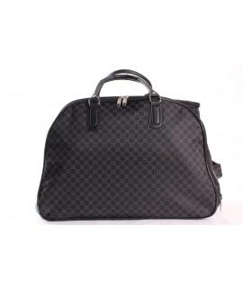 Cestovná taška na kolieskách (392) - čierna (52x37x30 cm)