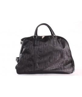 Cestovná taška na kolieskách (391) - čierna (52x37x30 cm)