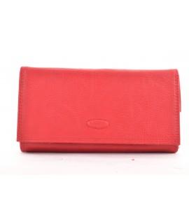 Čašnícka peňaženka BESTITALIA (D111-2V) - červená (19x10,5 cm)