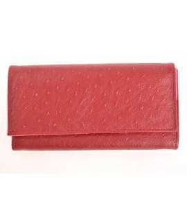Čašnícka peňaženka - s jemným vzorom - bordová (20x11 cm)