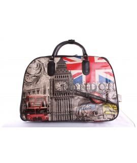 Cestovná taška veľká na kolieskach LONDON - farebná (53x37x30 cm)