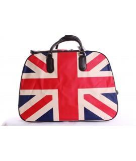 Cestovná taška veľká na kolieskach - trojfarebná (53x37x30 cm)