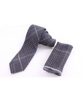Pánska kašmírová kravata - vzorovaná VZOR 12