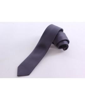 Pánska kravata - strieborno-tmavosivá (š. 5,5 cm)