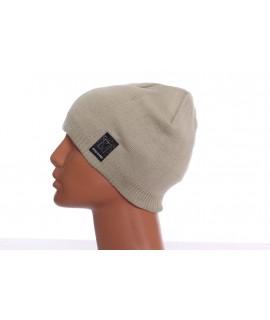 Pánska čiapka (XW-15) - vanilkovo-zelená