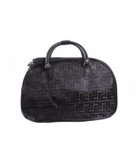 Cestovná taška lesklá - čierna (45x28x23 cm)