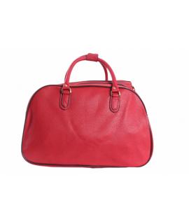 Cestovná taška - červená (45x28x23 cm)