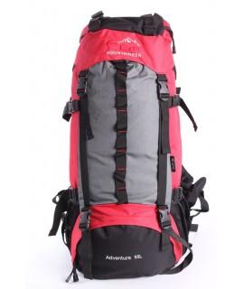 Batoh C32 EYE MOUNTAINEER 55 l (70x34x20 cm) - červeno-čierny