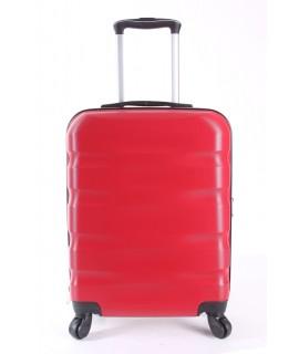 Cestovný kufor CABIN (55x40x20 cm s kolieskami) - červený