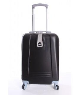 Cestovný kufor BONTOUR (55x37x20 cm s kolieskami) - čierny