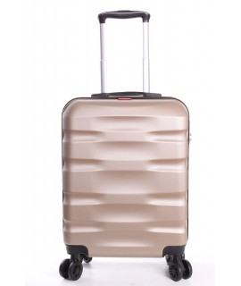 Cestovný kufor BONTOUR - CARRY (55x40x20 cm s kolieskami) - šampanská farba
