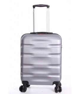 Cestovný kufor BONTOUR - CARRY (55x40x20 cm s kolieskami) - bledosivý