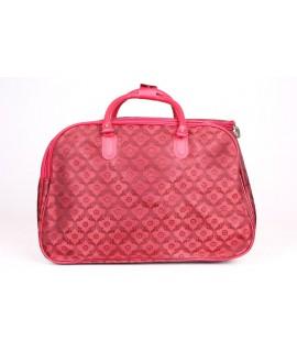 Cestovná taška (B-3388-76) - bordovo-červená (50x35x29 cm)