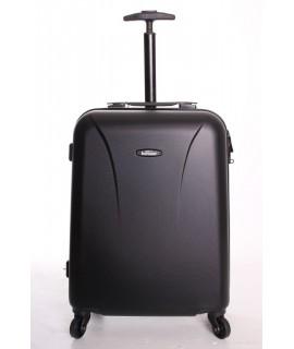 Cestovný kufor BONTOUR (55x40x20 cm s kolieskami) - čierny