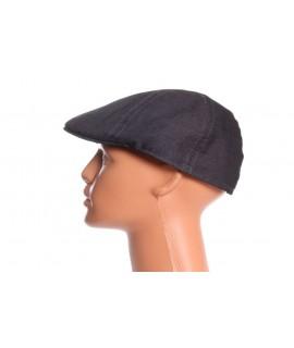 Pánska baretka - tmavosivá