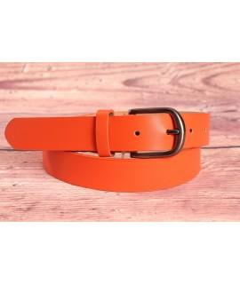 Dámsky opasok (ZSP20136-3) - oranžový (š. 2,8 cm) LATA