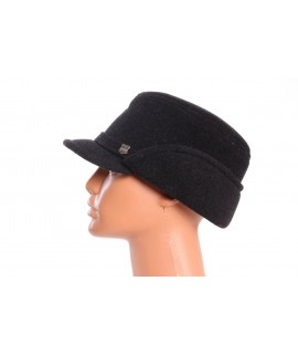 Pánsky flísový klobúk so šiltom -  antracit