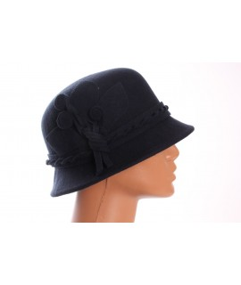 Dámsky klobúk - tmavomodrý 1.