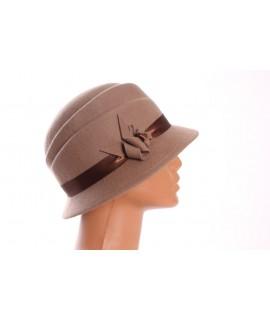 Dámsky klobúk - bledohnedý 2.