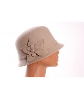 Dámsky klobúk - béžový