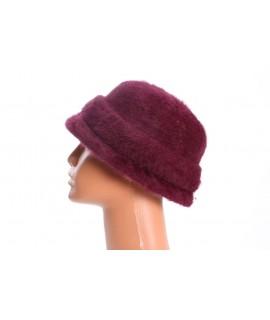 Dámsky klobúk - baklažánový