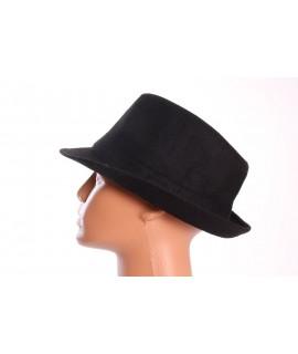 Dámsky klobúk (9-70) - čierny