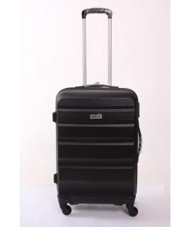 Cestovný kufor BONTOUR (65x45x25 cm s kolieskami) - čierny