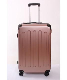 Cestovný kufor BONTOUR (75x50x28 cm s kolieskami) - rose gold
