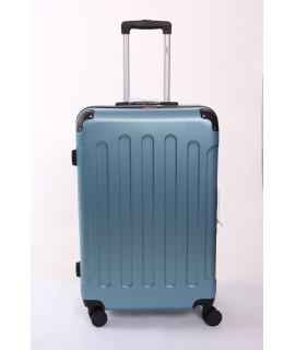Cestovný kufor BONTOUR (75x50x28 cm s kolieskami) - tyrkysovo-modrý