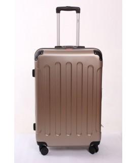 Cestovný kufor BONTOUR (75x50x28 cm s kolieskami) - zlato-hnedý