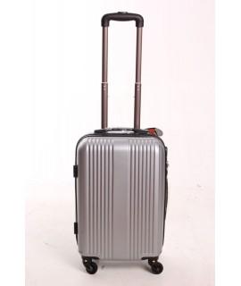 Cestovný kufor QF (57x38x23) - strieborný