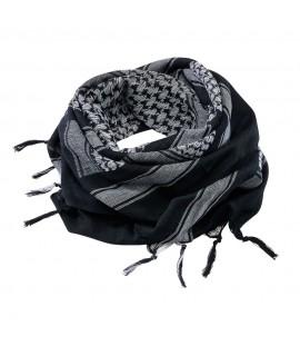 Brandit šál - čierno-biely (110 x 110cm)