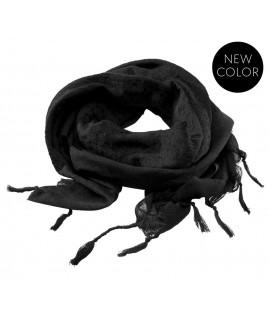 Brandit šál - čierny (110 x 110cm)