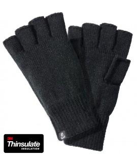 Brandit rukavice bez prstov - čierne