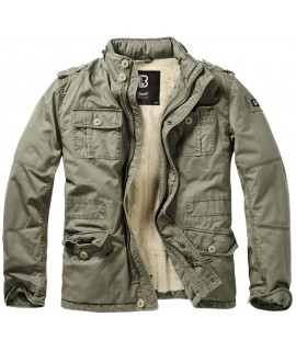 Brandit pánska zimná bunda Britannia - olive
