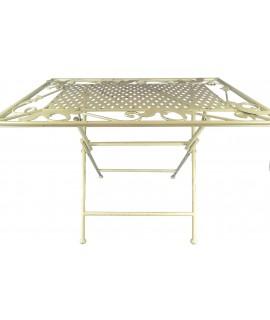 Biely stolík