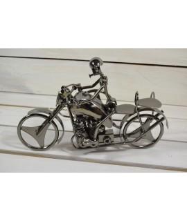 Stojan na fľašu - MOTORKA (30x20x16 cm)