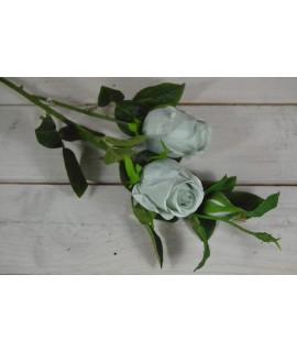 Umelá kytica RUŽA - mätová (v 65 cm)