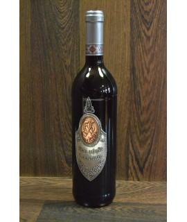 """Červené víno """"VŠETKO NAJLEPŠIE K 55. NARODENINÁM"""" 0,75 l"""