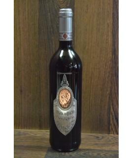 """Červené víno """"VŠETKO NAJLEPŠIE K 65. NARODENINÁM"""" 0,75 l"""