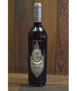 """Červené víno """"NAJLEPŠÍ RYBÁR"""" 0,75 l"""