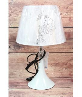 Lampa - bielo-strieborná (v. 42 cm)
