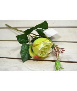Umelá RUŽA - zelená (v. 42 cm) 029
