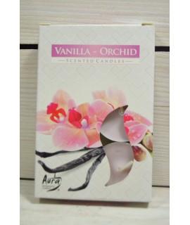 Čajové sviečky VANILLA ORCHID